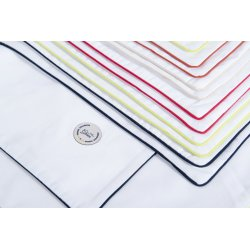 Junior pillowcase 35x55cm - dark green