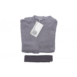 Womens Dressing - Gown  - grey