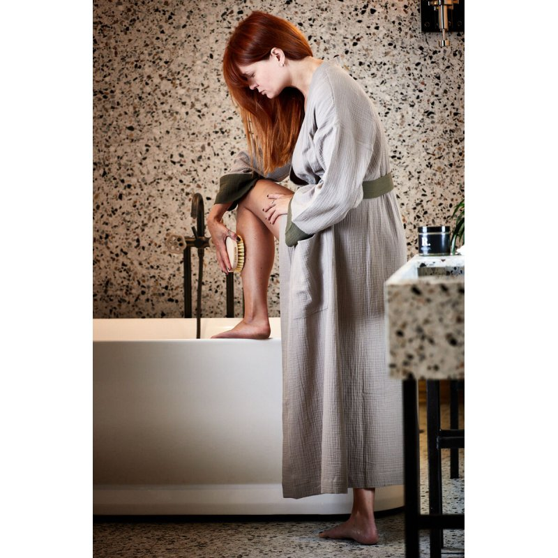 Womens Dressing - Gown - olive