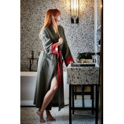 Womens Dressing - Gown - khaki