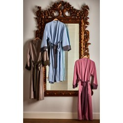 Womens Dressing - Gown - light blue