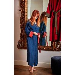 Womens Dressing - Gown - dark blue