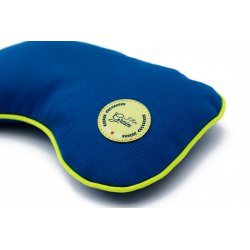 """Eye pillow with flax seeds - lime/lime/blue - Collection of """"Krystyno nie denerwuj matki"""""""