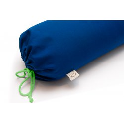 Bolster with emmer hull 72cm - dark green - Collection of Zosia Zborowska