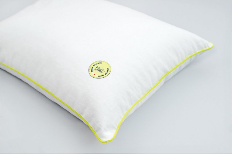GAJA PILLOW WITH MILLET HUSK 30x40 LIME/LIME