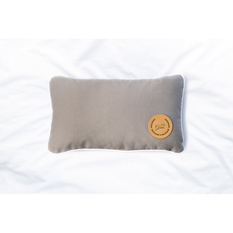 Travel pillow with buckwheat hull 28x17cm - different colours - Mindfulness collection