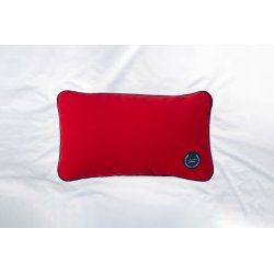 Travel pillow with emmer...