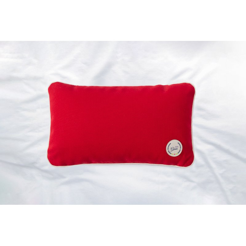 Travel pillow with millet hull 28x17cm - different colours