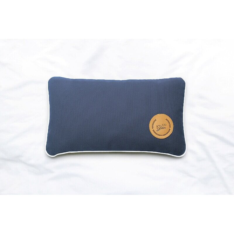 Travel pillow with millet hull 28x17cm - different colours - Mindfulness collection