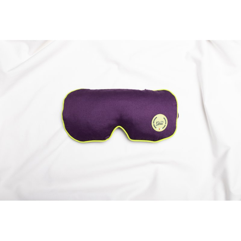 Jet Lag eye mask with rock salt - different colours