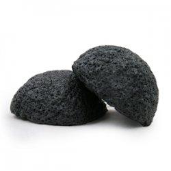 Konjac sponge - black
