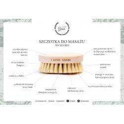 Szczotka do masażu ciała na sucho by Michalina Grzesiak