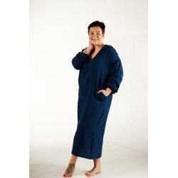 Womens nightdress - dark blue