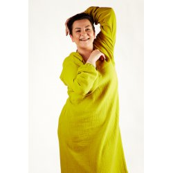 Womens nightdress - lime