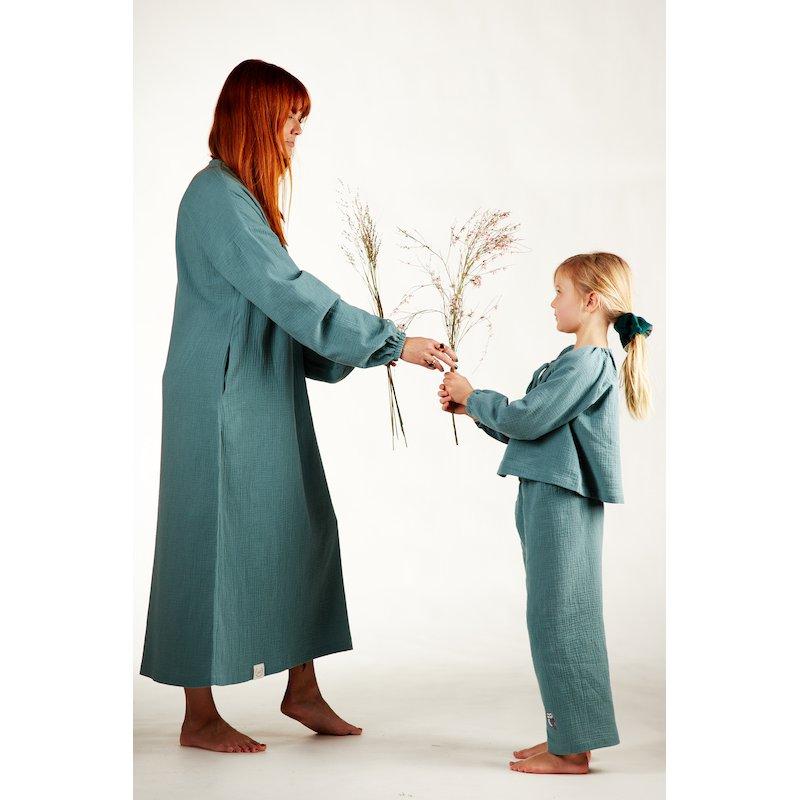Womens nightdress - turquoise
