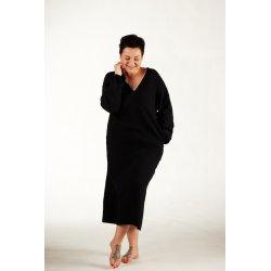 Damska koszula nocna - czarna