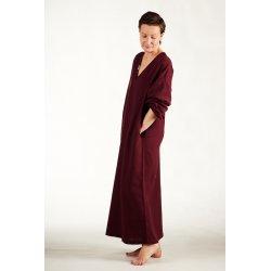 Womens nightdress - burgundy