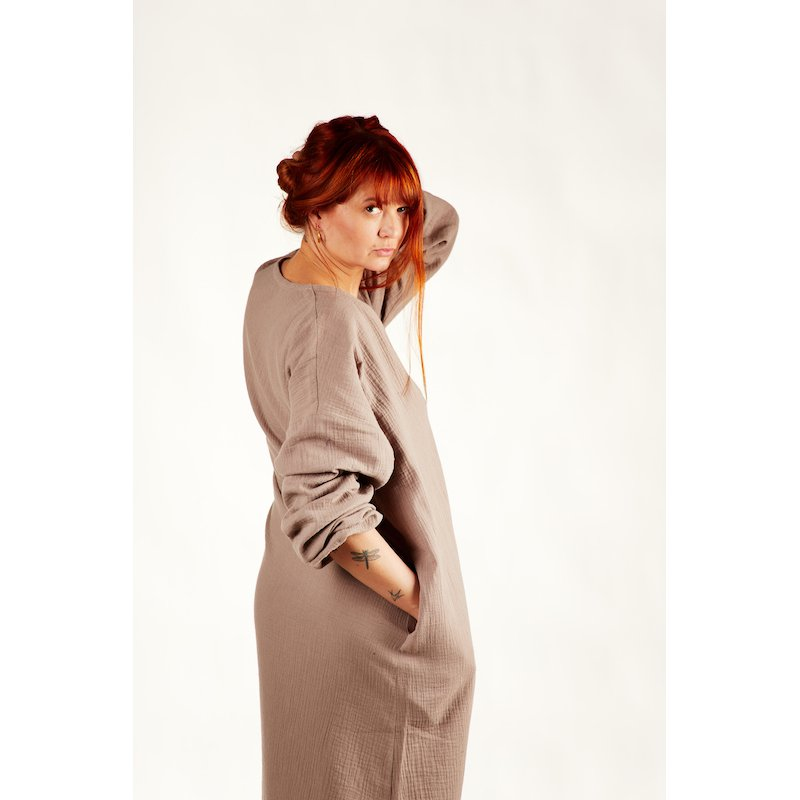 Womens nightdress - latte