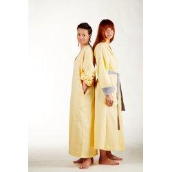 Womens nightdress - light yellow
