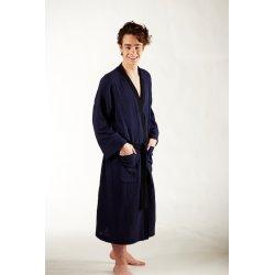 Men's Dressing - Gown - dark blue/black