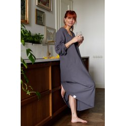 Womens nightdress - dark grey