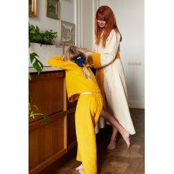 Womens Dressing - Gown – sand/mango