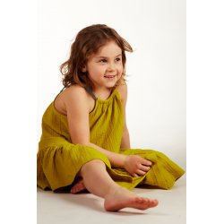 Girls' night dress – lime
