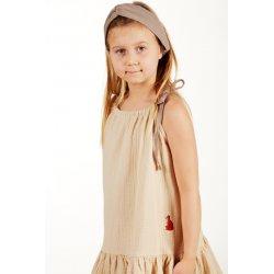 Girls' night dress – sand