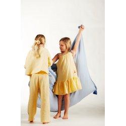 Girls' night dress – light yellow