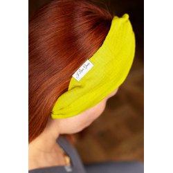Muslin hairband for kids – lime