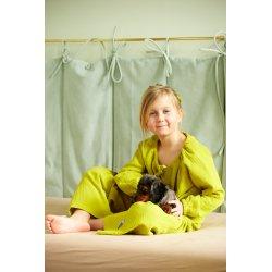 Dziecięca piżamka z długim rękawem - limonka