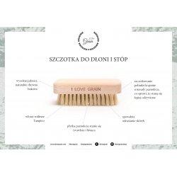 """Hand and feet brush – tampico – by """"Dzieciaki Cudaki"""""""