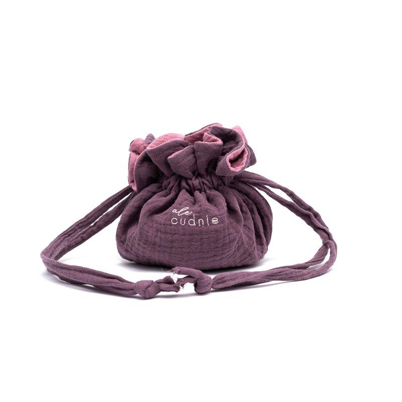 "Small cosmetic bag – violet – by ""Dzieciaki Cudaki"""