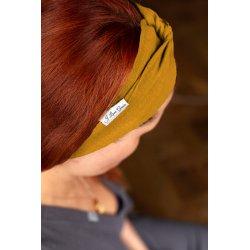 Muslin hairband for women – mango