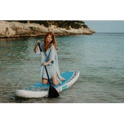 Surf Poncho – błękitne