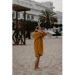 Surf Poncho – mango