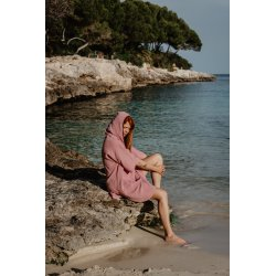 Surf Poncho – pink