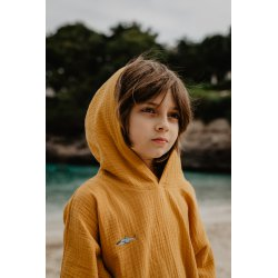 Kids Poncho - mango