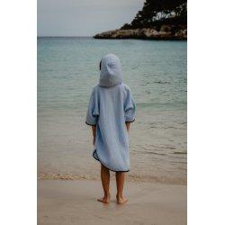 Kids Poncho - light blue
