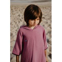 Kids Poncho - pink