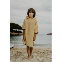 Kids Poncho - light yellow