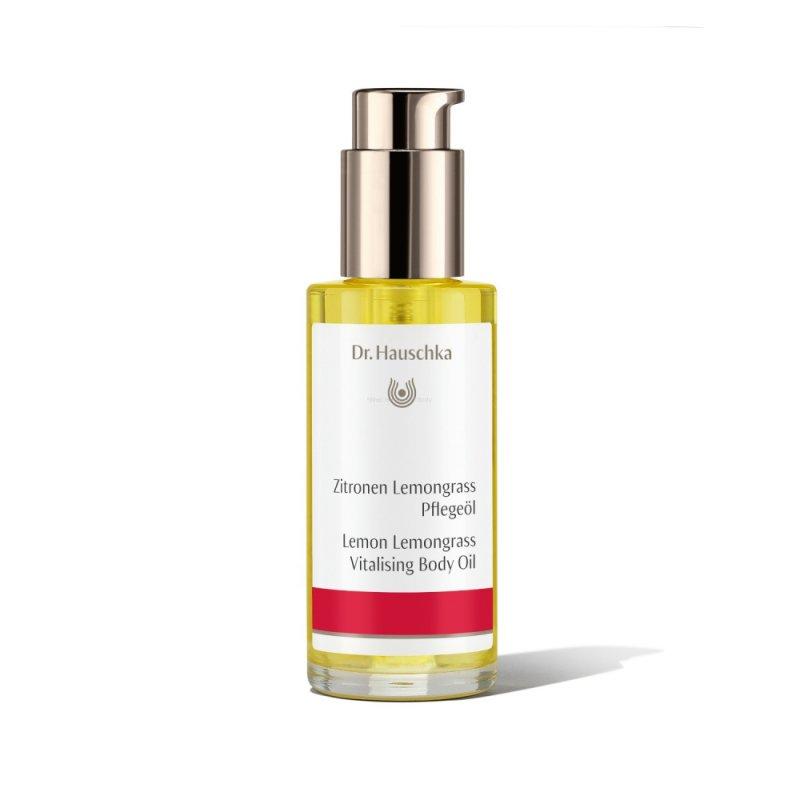 Lemon, lemongrass vitalising body oil Dr. Hauschka 75 ml