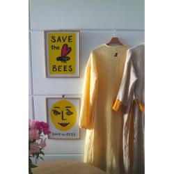 """Damska koszula nocna - """"Zróbmy to razem dla Pszczół!"""""""