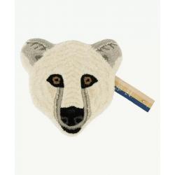 Kasbah Polar Bear Head Rug