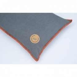 LINEN CUSHION WITH...