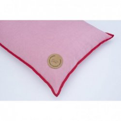 LINEN CUSHION WITH MILLET...