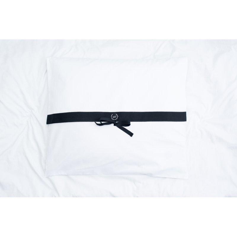 Pokrowiec biały na poduszkę Rita 50x60 cm bawełniany