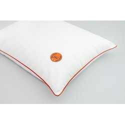 GAJA PILLOW WITH BUCKWHEAT HUSK 30x40 ORANGE/ORANGE