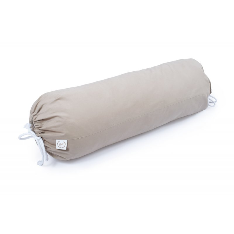 BOLSTER WITH MILLET HULL 72cm OLIVE