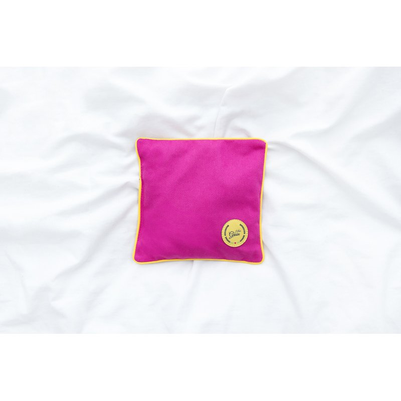 MINI HEAT PAD SQUARE YELLOW/YELLOW/PINK